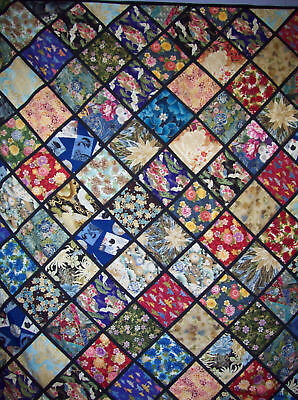 "QUILT KIT - ASIAN FANTASY - SMALL - APPROX. 56"" x 74"""