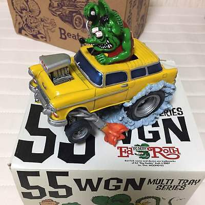 Very Rare! RAT FINK 55 WGN Multi Tray Series Figure Car