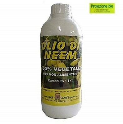 oil neem 1 lt insecticide repellent biological orchard garden 100% natural