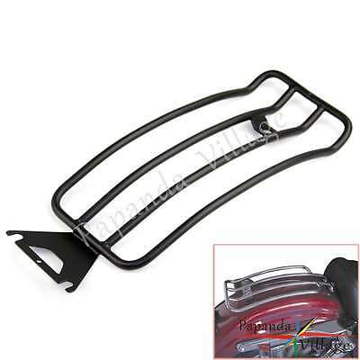 Motorcycle Seat Rear Fender Luggage Rack For 1998-2004 FLHT ELECTRA GLIDE Black