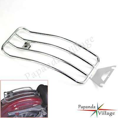 Seat Rear Fender Luggage Rack For FLHR ROAD KING TOURING MODELS WITH SOLO SEATS