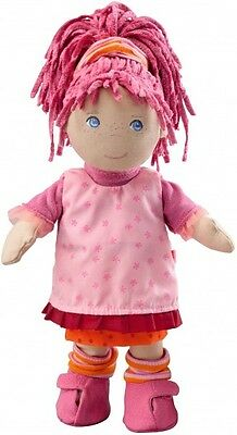 HABA Erste Puppe Stoffpuppe Lilli 30 cm pinke rosa Haare 957