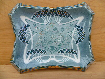 Old Stunning Very Nice Crewe Made China, Art Nouveau Platter, Dish (B344)