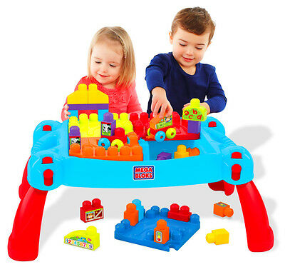 Building Blocks Toys Learning Table Baby Kids Child Learn Play Explore Fun Gift