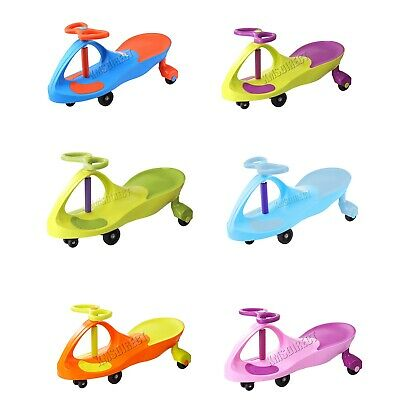 FoxHunter Twist Car – Wiggle Toy Swivel Scooter For Kids Ride On Swing Gyro