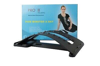 Bodytec Wellbeing Correction Pad/Back Stretcher, Lumbar Massaging Support