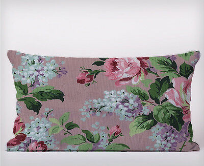 shabby chic Flowers Pink Long Cushion Covers Pillow Cases Home Decor or Inner