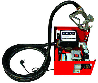 Electric Fuel Self-Priming Transfer Pump Auto Diesel Kerosene Extractor 60L/Min