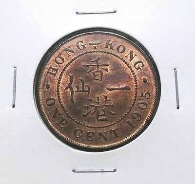 1905H - Hong Kong K.edward Vii 1 Cent (Unc)