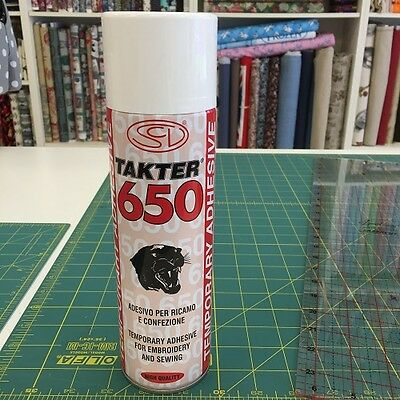 Takter 650 Temporary Adhesive For Embroidery & Sewing