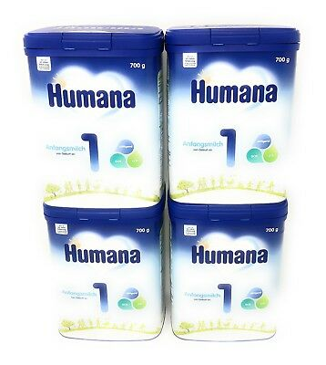 HUMANA  Anfangsmilch 1 ( 4 x 700g )