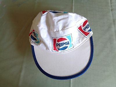 Vintage Pepsi Cola Painter Cloth hat Cap Hat Made USA