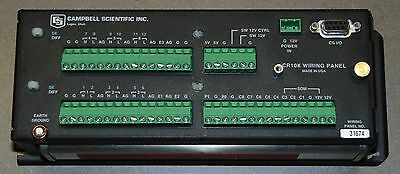 Campbell Scientific CR10X With Wiring Panel 1 MEG extended Memory Quantity Avlbl