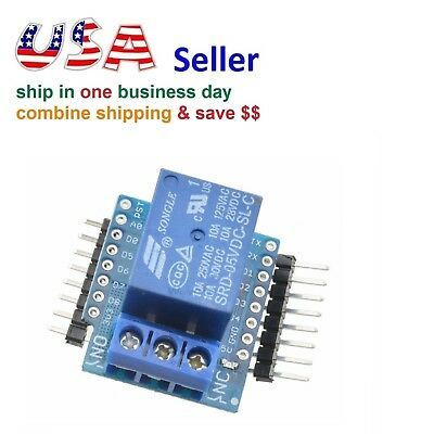 NEW One Relay Shield for Arduino WeMos D1 Mini ESP8266 Development Board