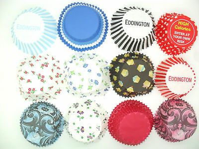 Eddingtons Choice of 60+ Quality Muffin Fairy Cupcake Cake Baking Paper Cases