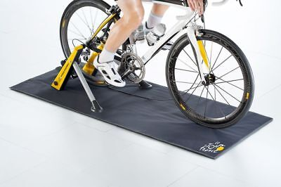 Tacx Cycletrainer BLUE MOTION Yellow Jersey Pro-Form + Skyliner, Schweißfänger,T