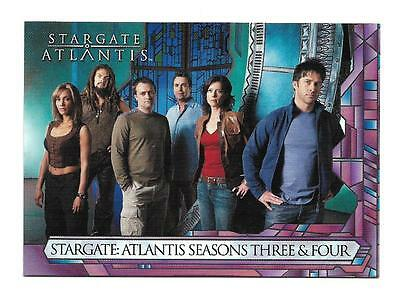 STARGATE ATLANTIS SEASON 2 PROMOTIONAL SELL SHEET