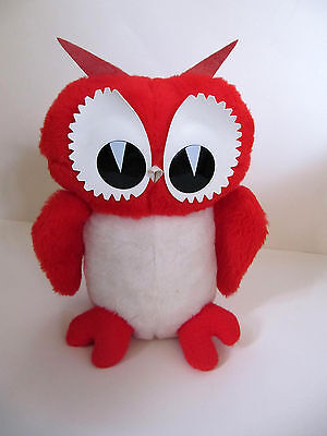 RED OWL food store Plush stuffed animal toy vintage advertising 1984 genuine