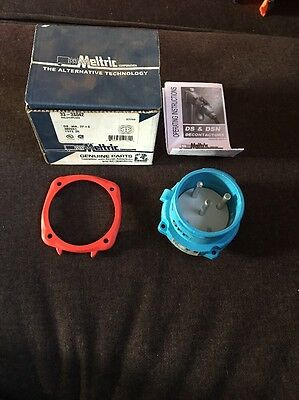 Meltric 33-38042 Inlet Plug DS 30A 2P + E Free Shipping New