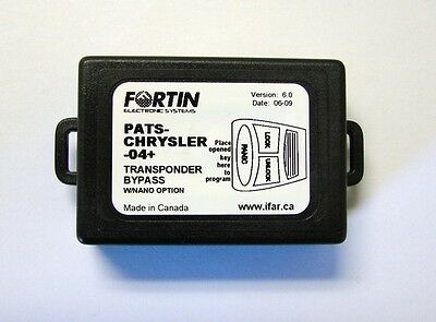 Fortin Pats-Chrysler-04+ Immobilizer Transponder Bypass Module
