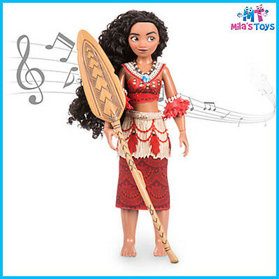 "Disney Moana 11"" Singing Feature Doll Set brand new in box"