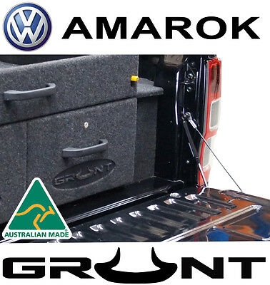Grunt 4X4 Rear Tailgate Slow Down Strut Vw Volkswagen Amarok 2011-2017 Tail Gate