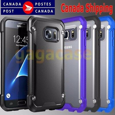 High_End Hybrid Rubber ShockProof Protective Cover Case Samsung Galaxy S6 Edge