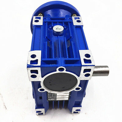 040 Worm Gear Speed Reducer Ratio 50:1 63B14 1400r/min for CNC Stepper Motors
