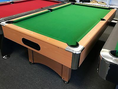 【Display Model】7FT Green Timber MDF Pool Snooker Billiard Table SYD Pick Up