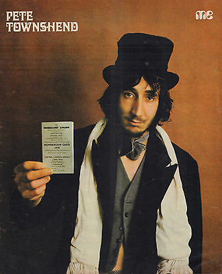 Who / Pete Townshend - Photo's + Articles  From Dutch Music Magazines 1971