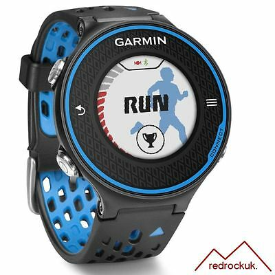 Garmin Forerunner 620 GPS Running Watch Touchscreen Display - Black / Blue