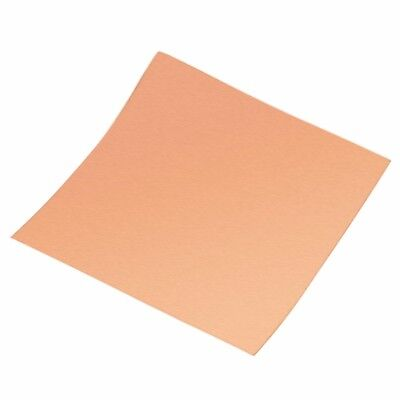 99.9% Pure Copper Cu Metal Sheet Foil 0.1mm*100mm*100mm For Handicraft Aerospace