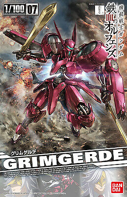MG GRIMGERDE 1/100 Gunpla Pvc Bandai Action Figure Master Grade HG Iron-Blooded
