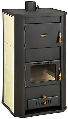 Wood Burning Stove Multi Solid Fuel Boiler Water Jacket 37 kW Prity WD W29