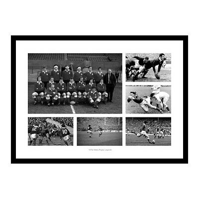 Wales Rugby 1970s Legends Photo Memorabilia (MU70)