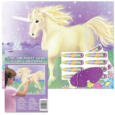 Unicorn Party Game/Girl's Birthday Party Supplies/Kids Party Supplies Games
