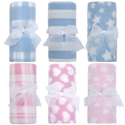 Newborn Baby Gift Boy Girls Soft Fleece Blanket Cheap Cot Crib Blanket Comforter