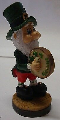 "IRELAND WEE FOLK Leprechaun 3"" LITTLE MEN BODHRAN 88841"