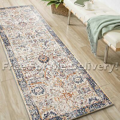 SULIS CHOBI COLOURFUL TRADITIONAL RUG RUNNER (XL) 80x500cm **FREE DELIVERY**