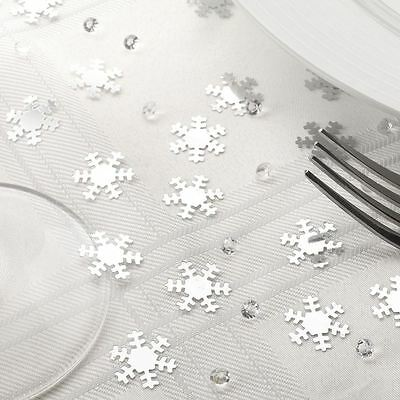 Snowflake Shimmering Confetti And Crystals Christmas Snow Xmas 28g Decoration