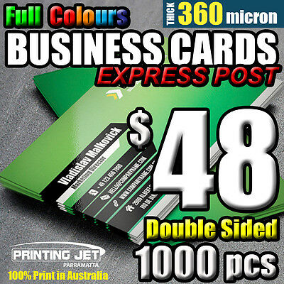 Business Cards [1000+50]pcs Double Sided 360 micron Thick Business Card Printing