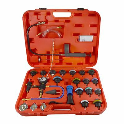 Pneumatic Radiator Pressure Tester Vacuum Type Cooling System Kit And Adapters