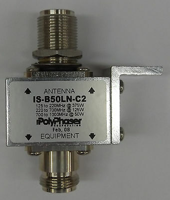 PolyPhaser IS-B50LN-C2 dc Blocked Protector
