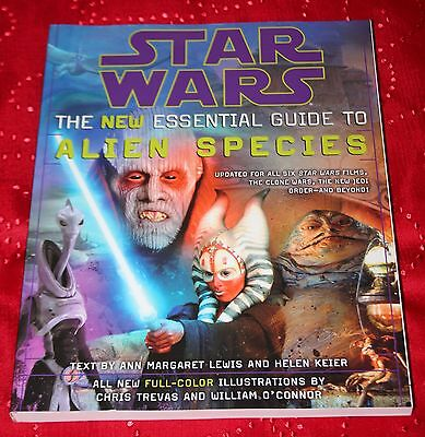 Star Wars The New Essential Guide to Alien Species Book NEW 2006 Softcover