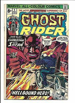 GHOST RIDER (Vol.1) # 9 (DEC 1974), FN+