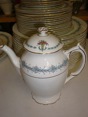 "COALPORT ""Geneva"" Pattern - 6"" Coffee Pot w/Lid - 3 Cup"