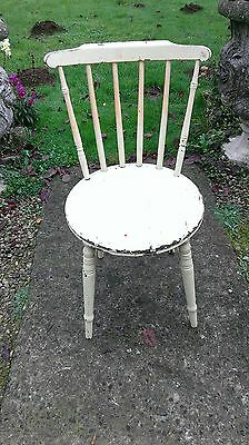 Vintage  Spindle  Back  Chair.