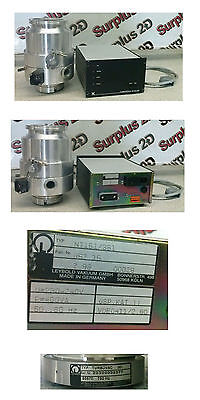 Leybold Turbovac 361 Turbo Pump with NT-151/361 Turbovac Controller