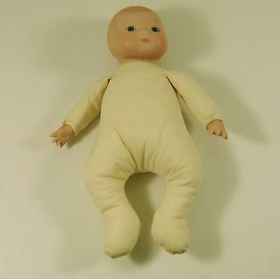 """Reproduction Grace Putnam Baby Doll with Frog Body 10"""" long"""