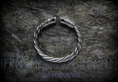 Gotland Viking Bracelet (sterling silver), viking jewelry